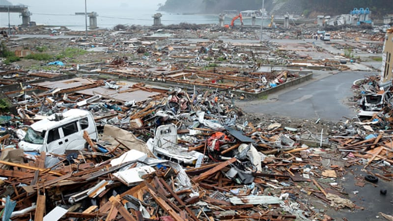 The 2011 tsunami caused widespread destruction to the Fukushima plant and surrounding areas [Getty]