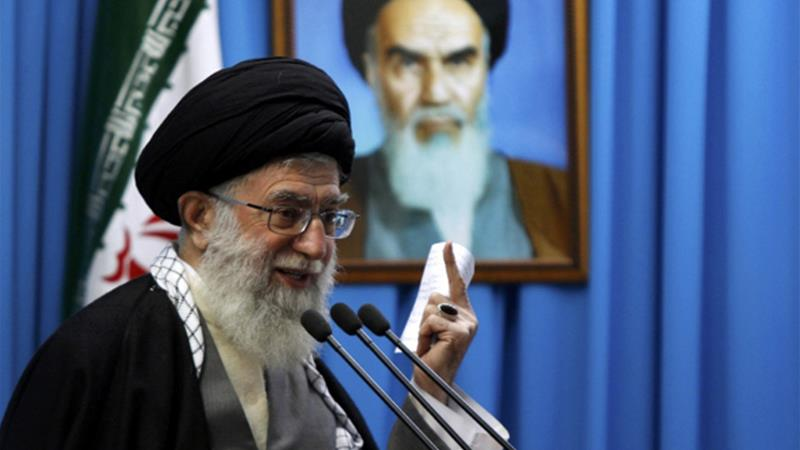 Khamenei's reportedly fears a coalition of 'purists' will rise up and get rid of him [REUTERS]
