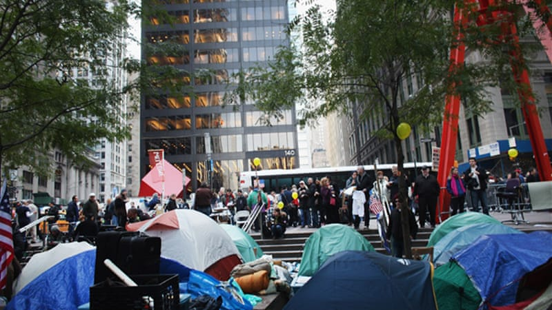 Occupy Wall Street and democratic protest