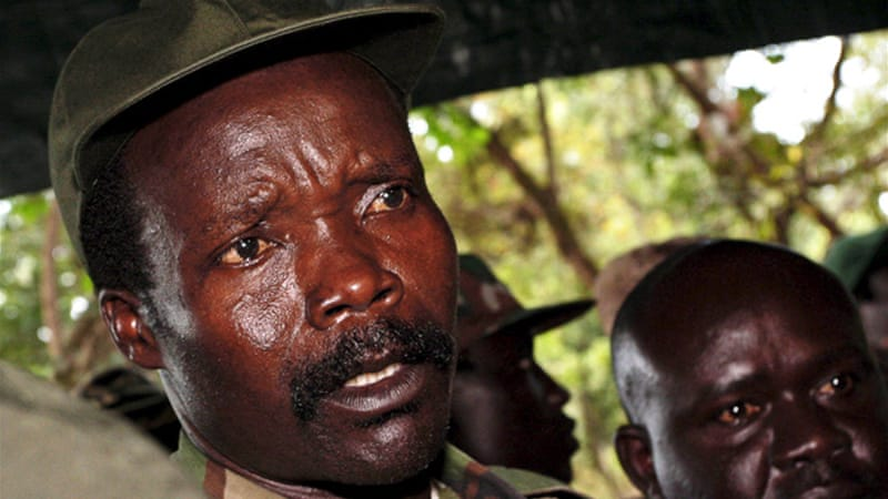 A file picture dated November 2, 2006 shows, the leader of the Lord's Resistance Army, Joseph Kony [EPA]