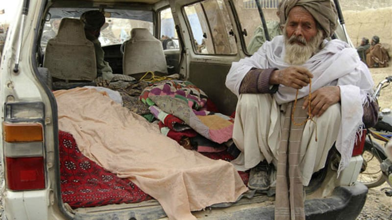 Nine of the 16 killed in Kandahar's Panjwai district were children and three were women [EPA]