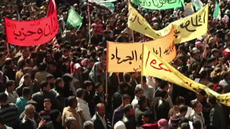 Thursday marks the first anniversary of the start of the uprising against Bashar al-Assad's regime in Syria [Al Jazeera]