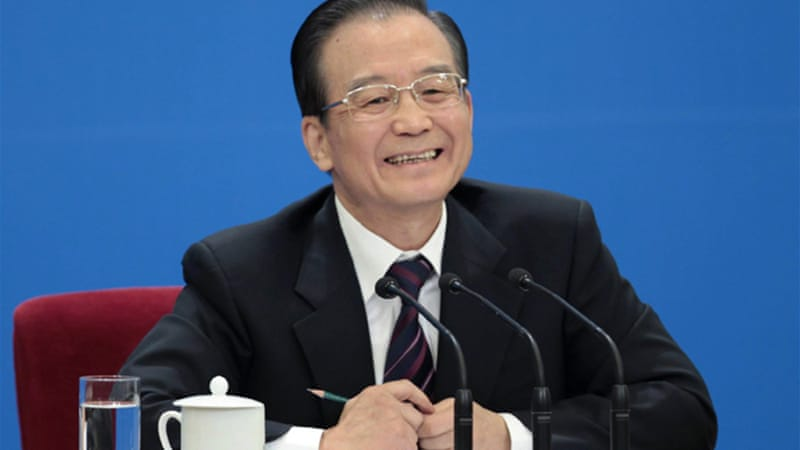 Chinese Premier Wen will be stepping down this year, after completing a 10 year term [Reuters]