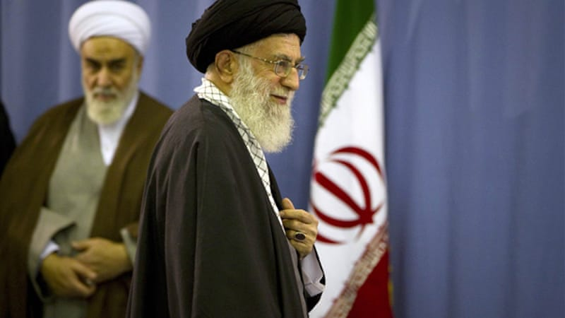 Ayatollah Ali Khamenei has urged Iranians to buy domestically-made goods to defeat sanctions [Reuters]