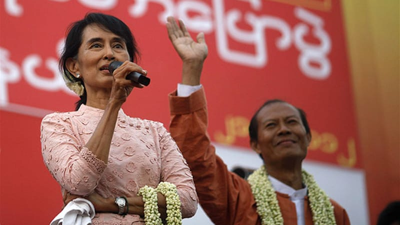 Aung San Suu Kyi's National League for Democracy has welcomed the invitation of observers [Reuters]