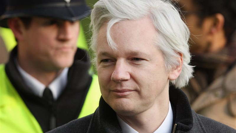 Assange is fighting extradition to Sweden, where he is sought for questioning over alleged sex crimes  [GALLO/GETTY]
