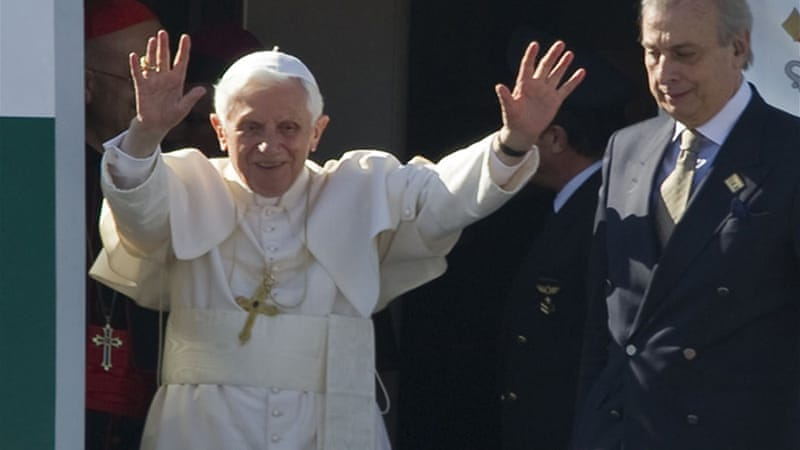 Pope Benedict XVI's upcoming visit to Cuba will be the Caribbean island's first papal visit since 1998 [AFP]