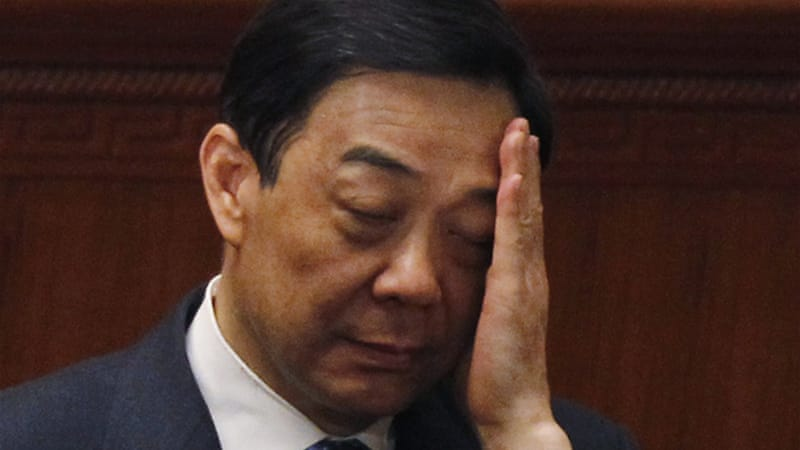 The ambitious Bo Xilai was removed as Chongqing Communist Party Secretary on March 15 [EPA]