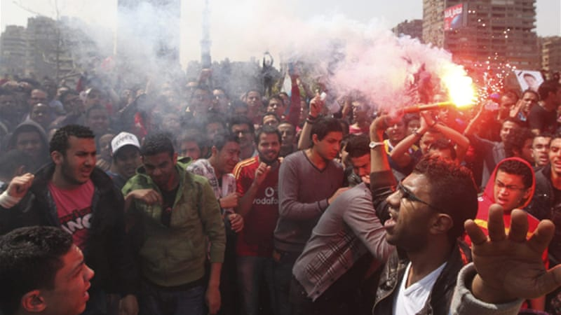 Egyptian league has been disrupted since a deadly riot in Port Said almost eight months ago [File: Reuters]