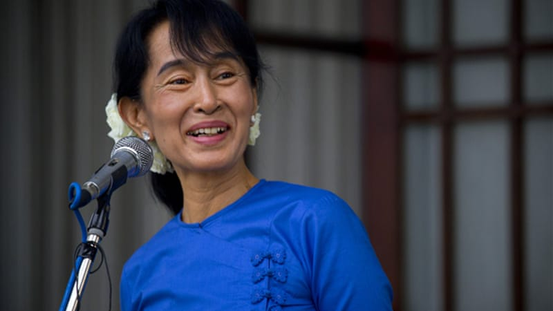 Reforms in Myanmar have seen Aung San Suu Kyi elected to parliament [GALLO/GETTY]