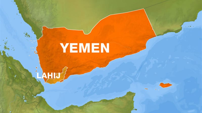Much of the fighting is taking place in Yemen's southern Lahij province.