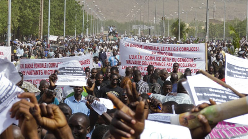 Attempts by West African leaders to visit Mali were rebuffed by coup-sympathetic crowds at the airport [EPA]