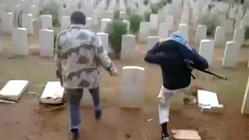 World War II graves smashed in Libya | Libya News | Al Jazeera