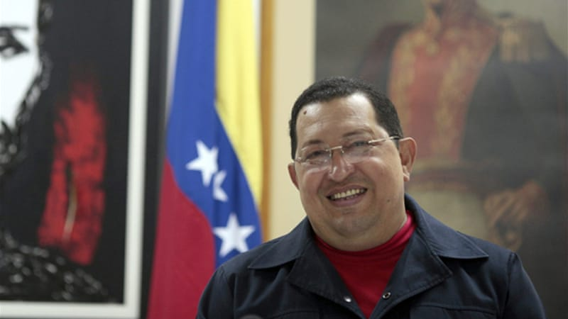 Chavez is seeking re-election in October elections [AFP]