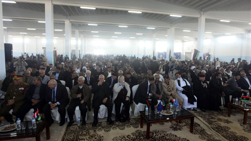 A conference held in Benghazi on Tuesday called for federalism for Libya's eastern region [Reuters]