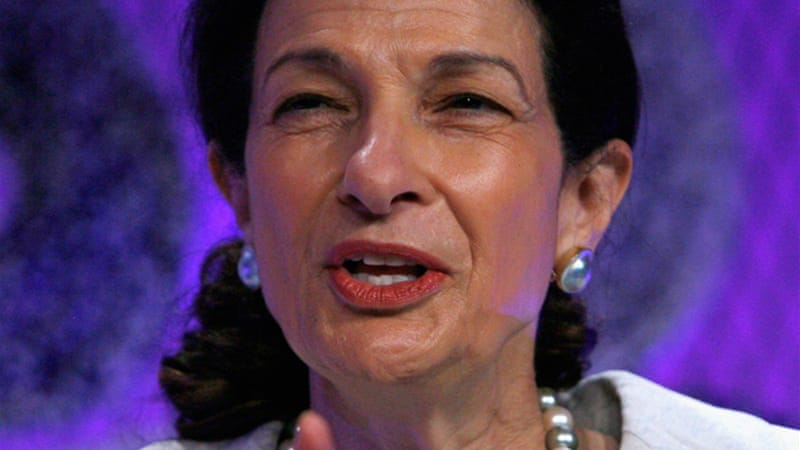 Maine Republican Olympia Snowe, a quintessential 'centrist', has served in the US Senate since 1995 [GALLO/GETTY]