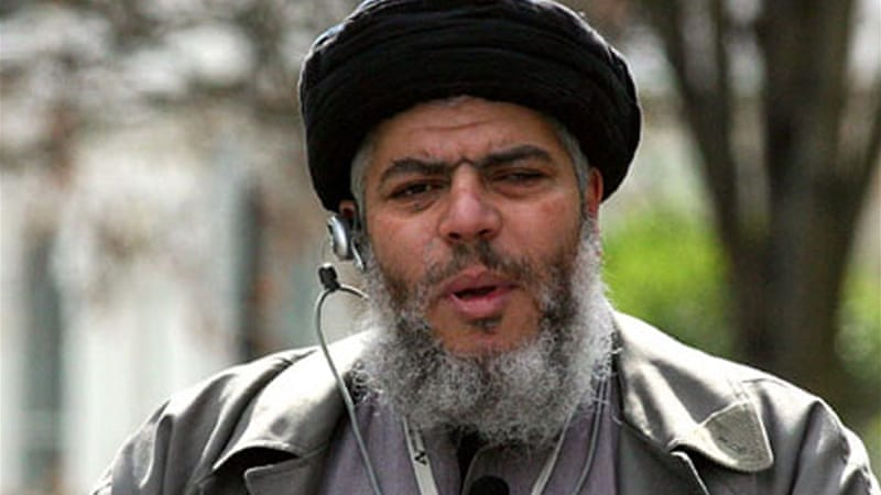 Abu Hamza is wanted in the US on charges including setting up an al-Qaeda-style training camp in Oregon
