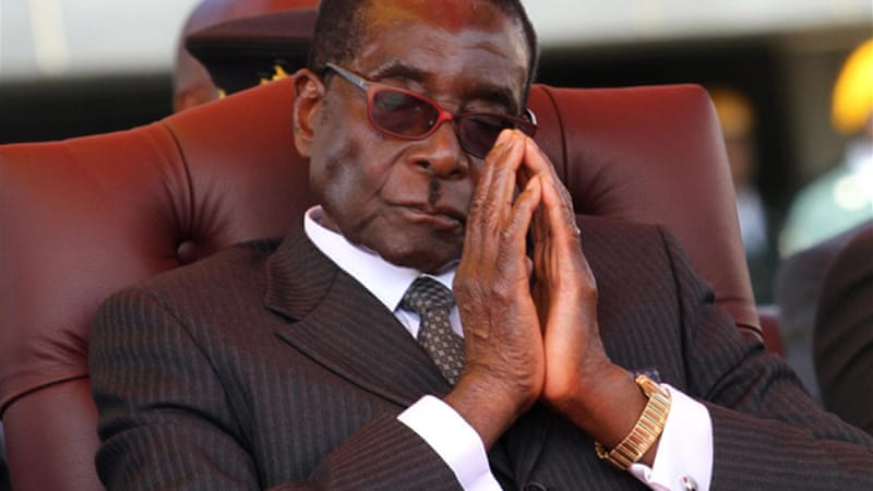 Mugabe, 88, has laughed off suggestions that he is seriously ill [AFP]
