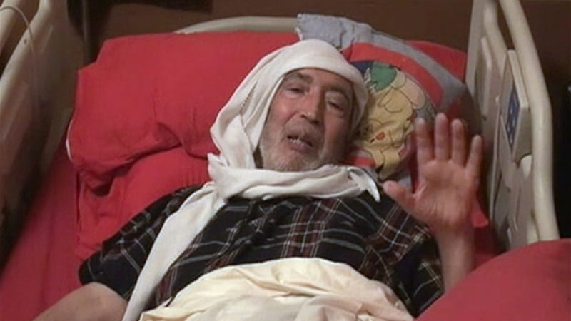 Al-Megrahi was transferred to a hospital in April after his health rapidly deteriorated [Reuters]