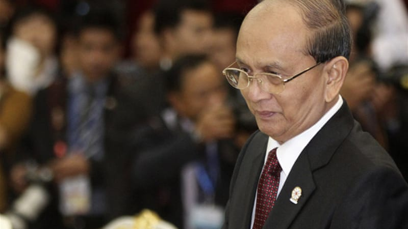 Australia removed Thein Sein from the sanctions list, but military officers remained [Reuters]