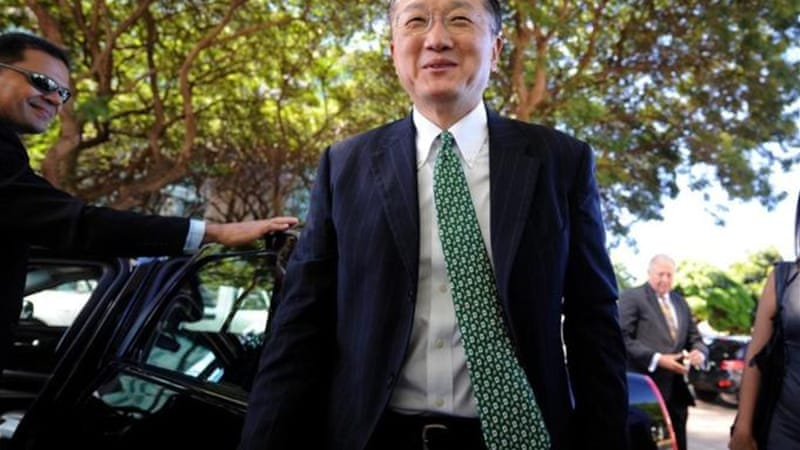 Electing the US candidate Jim Yong Kim to the presidency of the World Bank may have been a missed opportunity to ameliorate animosity stemming from the global economic meltdown [AFP]