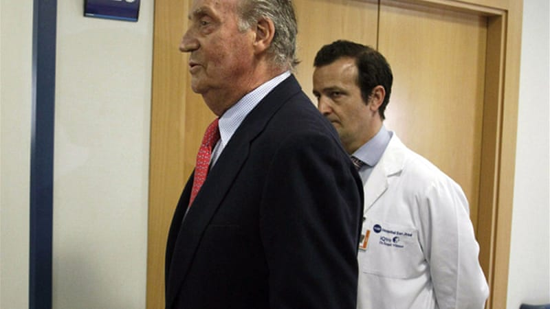 "King Juan Carlos said he ""made a mistake"" going on the hunting trip [EPA]"