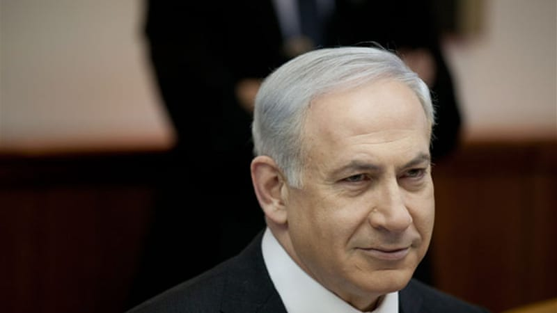 Israeli Prime Minister Binyamin Netanyahu 'regularly invokes Nazi Germany to describe Iran' [EPA]