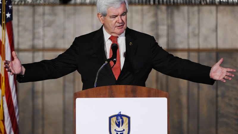 Newt Gingrich: The invented political gnome