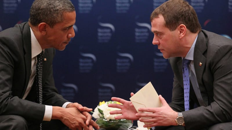 """This is my last election. After my election I have more flexibility,"" Obama had told Russian President Dmitry Medvedev [EPA]"