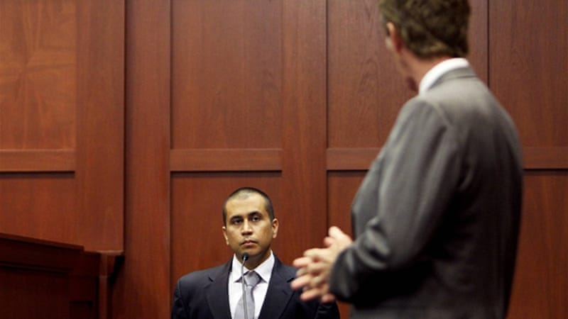 George Zimmerman, who has said he shot Martin in self-defence, was released on bail [Reuters]