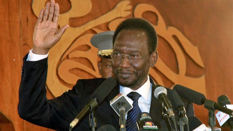 Dioncounda Traore, Mali's interim president, will receive support to fight Tuareg rebels [AFP]