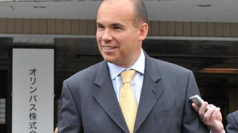 Michael Woodford was fired as chief executive of Olympus in October 2011 for exposing the financial scandal [AFP]