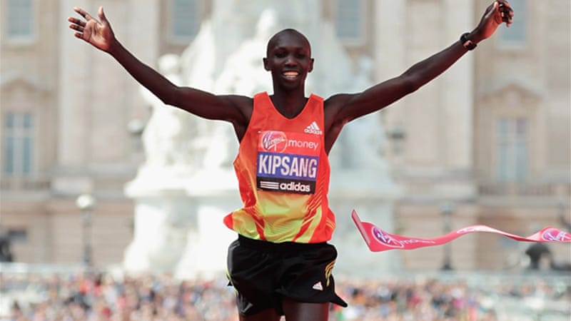 No stranger to winning: Kipsang won the London marathon in 2012 in a time of 2:04.40 [GETTY]