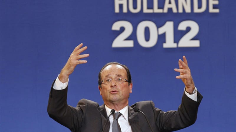 Hollande has not differed greatly from Sarkozy on France's recent policy of increased interventionism [REUTERS]