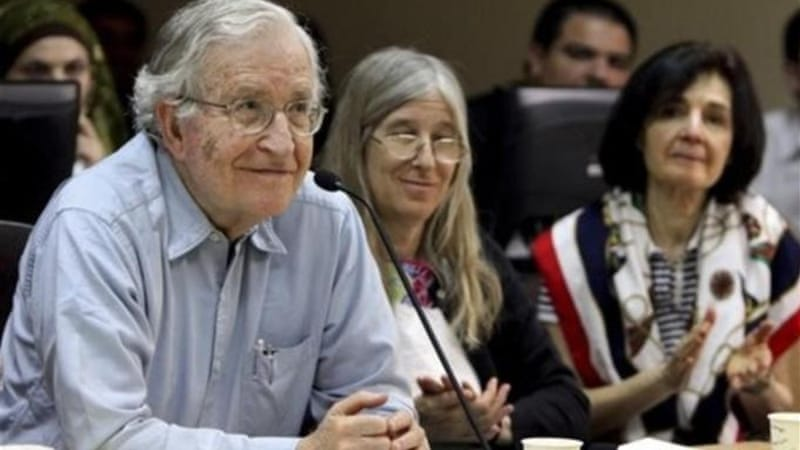 Linguist, philosopher and activist Noam Chomsky is on the consultative committee of the International Organisation for a Participatory Society [AP]