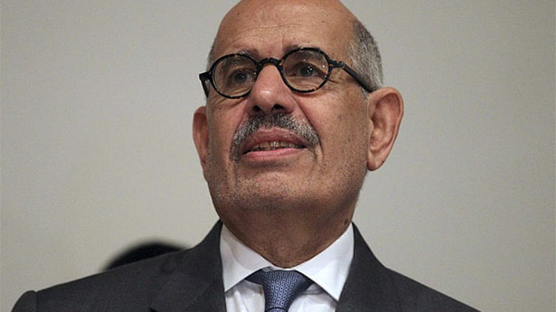 ElBaradei ignores the fact that Egypt's economy was in shambles before Morsi's election, says Elmasry [Reuters]