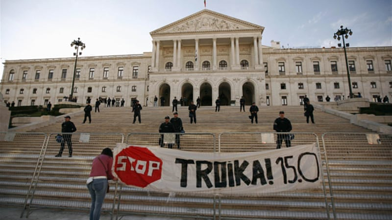 Portugal has had its share of mass mobilisations against austerity and general strikes, the most recent of which took place on March 22 [Reuters]