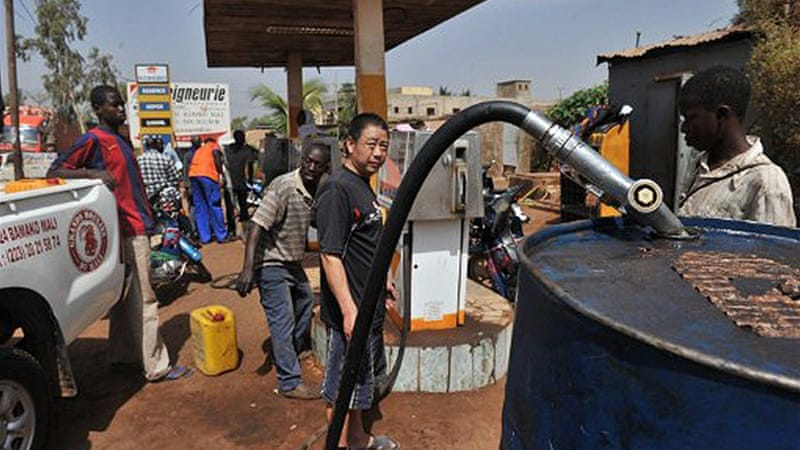 Mali imports all its fuel, which is transported in overland from neighbouring Ivory Coast and Senegal [Reuters]