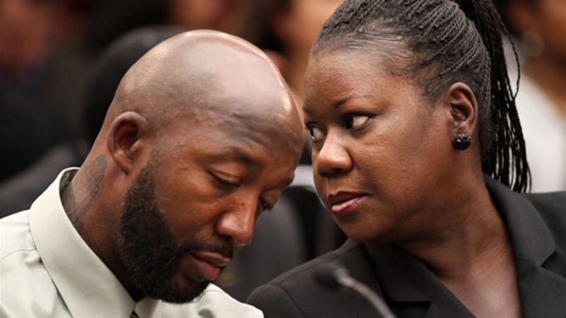 Trayvon Martin's parents, Tracy Martin and Sybrina Fulton, created a petition that accrued over two million signatures - the largest ever [AP]