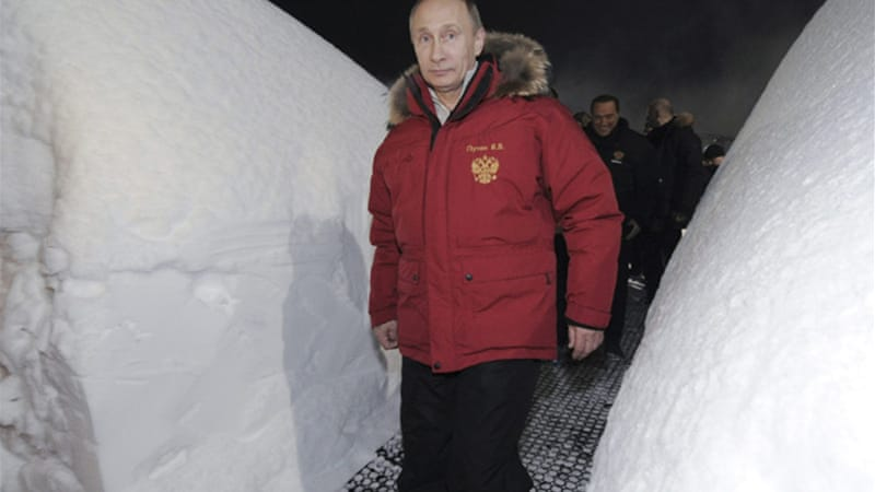 Russian Prime Minister Vladimir Putin  has an official residence in Sochi, site of the 2014 Winter Olympics [Reuters]