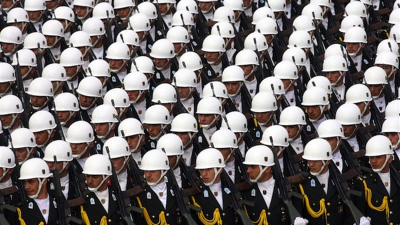Turkey's military has long viewed itself as the 'guardian of democracy' [EPA]