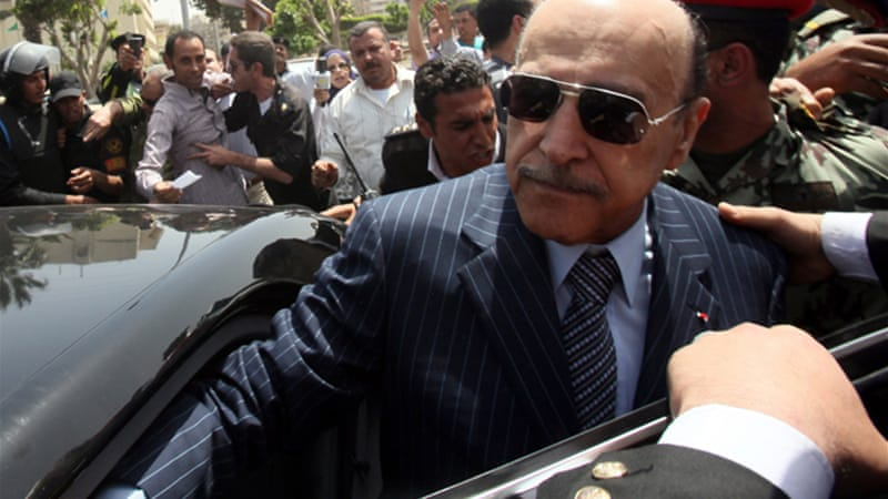 Suleiman was barred from standing as a presidential candidate in a ruling by Egypt's election commission [EPA]