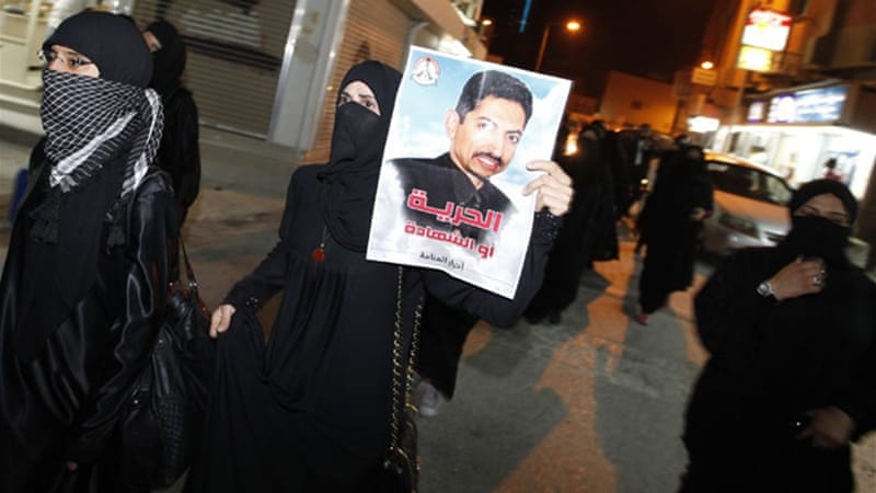 Protests in support of Khawaja have been happening regularly across Bahrain [Hamad I Mohammed/Reuters]