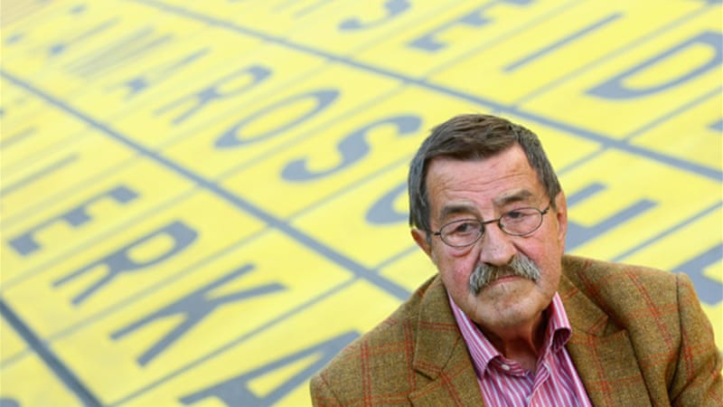 Günter Grass identifies Israel as a threat to world peace in his poem, 'What Must Be Said' [GALLO/GETTY]