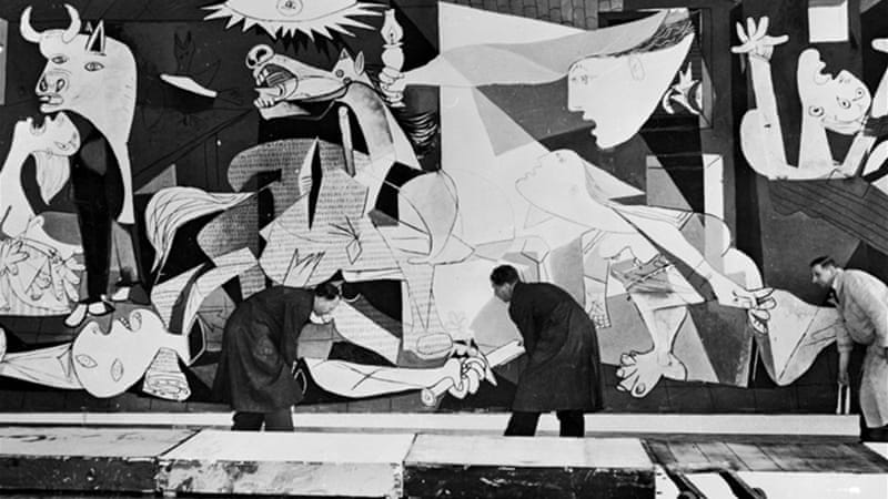 Pablo Picasso's 'Guernica' is an example of art used to express reactions to significant issues [GALLO/GETTY]