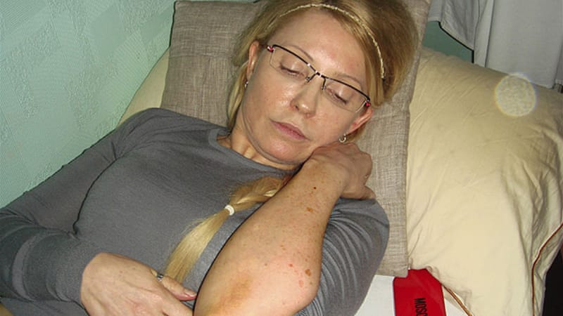 Tymoshenko is on hunger strike after she was allegedly beaten in her prison cell [Reuters]