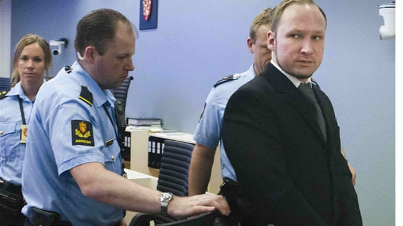 Anders Breivik has been charged with committing terrorist acts after killing 69 people on a shooting rampage [Reuters]
