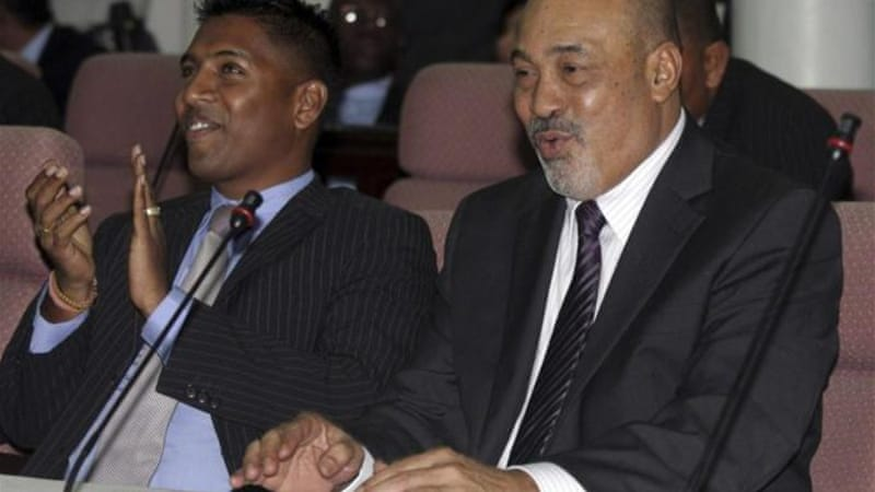 Bouterse was elected president in the 51-member National Assembly in Paramaribo in 2010 [AP]