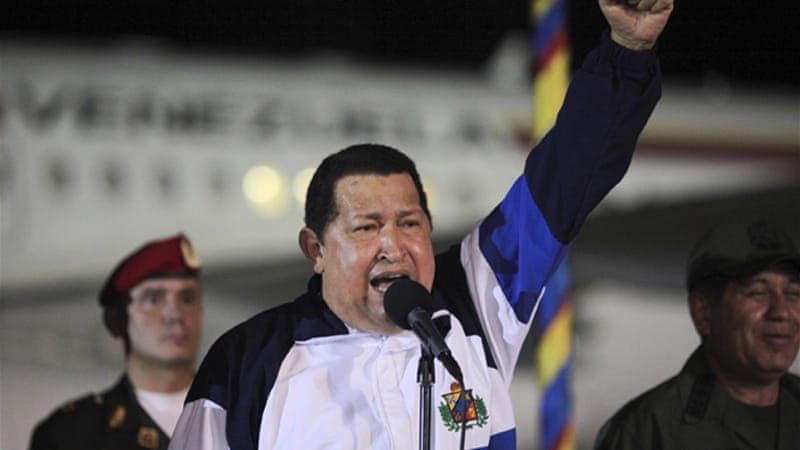 Chavez said he must continue 'rigorously' following medical instructions in coming days [Reuters]