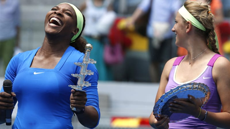 Williams has now won back-to-back WTA clay titles after claiming Charleston in the US last month [EPA]
